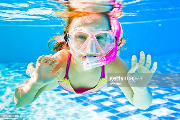 Schnorcheln die Unterwasserwelt
