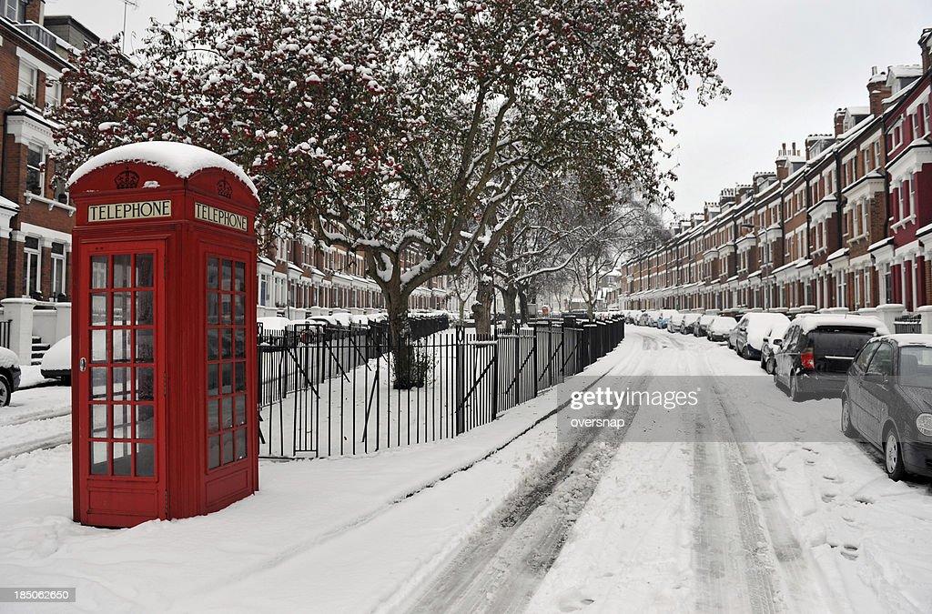 Snow and Phone box