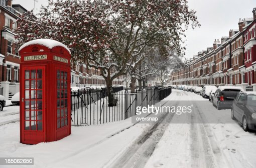 Snow and Phone box