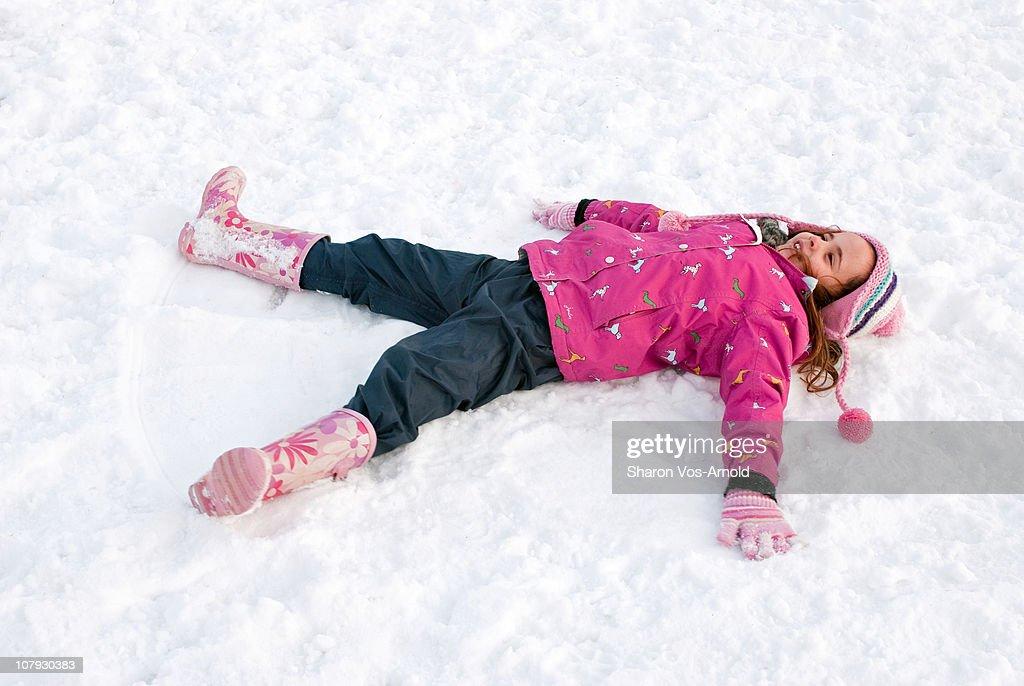 Snow Angel Girl