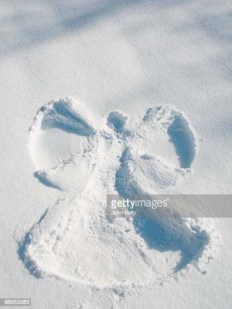 Snow angel shape