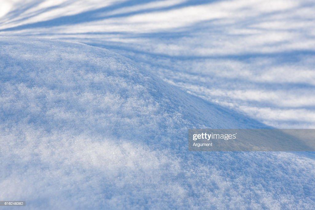 snow background : Stock Photo