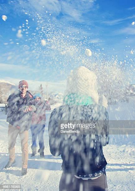 Boule de neige Lutte