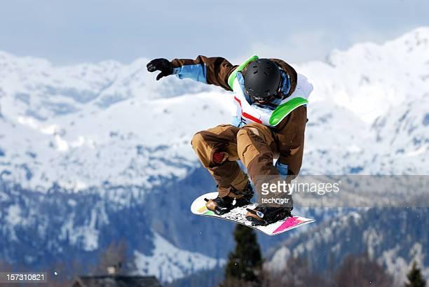 Snow Bord Wettbewerb