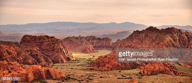 Snow Canyon Panorama in Southern Utah