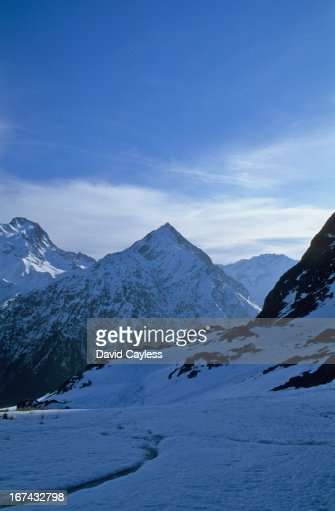 Snow covered Alps : Stock Photo