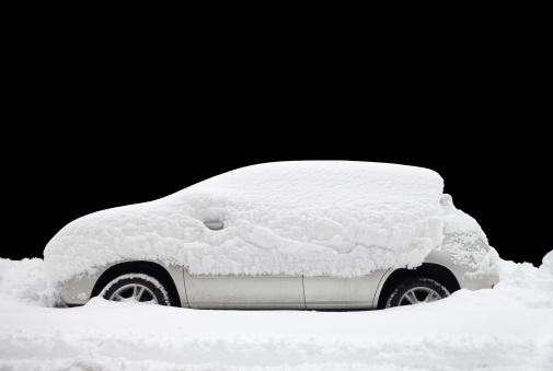 Car Covered In Snow : Snow covered vehicles stock photos and pictures getty images