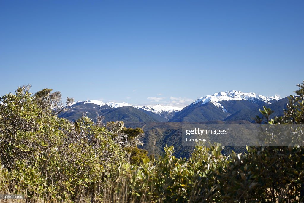 Onekaka New Zealand  City new picture : Snow Covered Ranges, The Kahurangi National Park, New Zealand