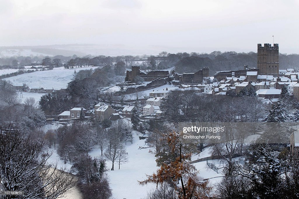 Richmond (North Yorkshire United Kingdom  city photos gallery : Freezing Weather Conditions Continue With Forecasters Predicting More ...