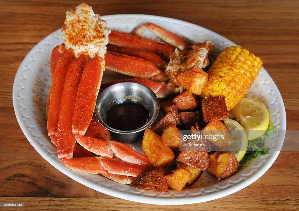 Snow Crab Above : Stock Photo
