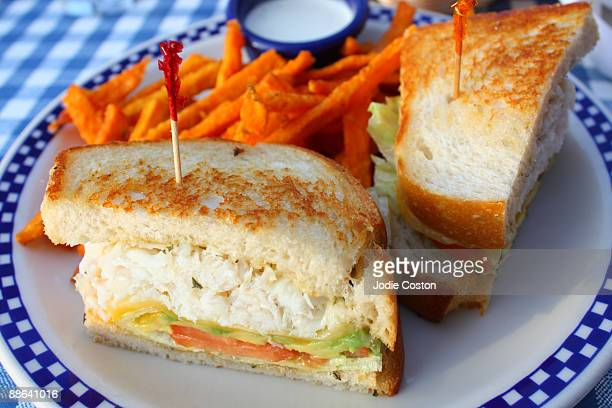 Snow Crab Sandwich