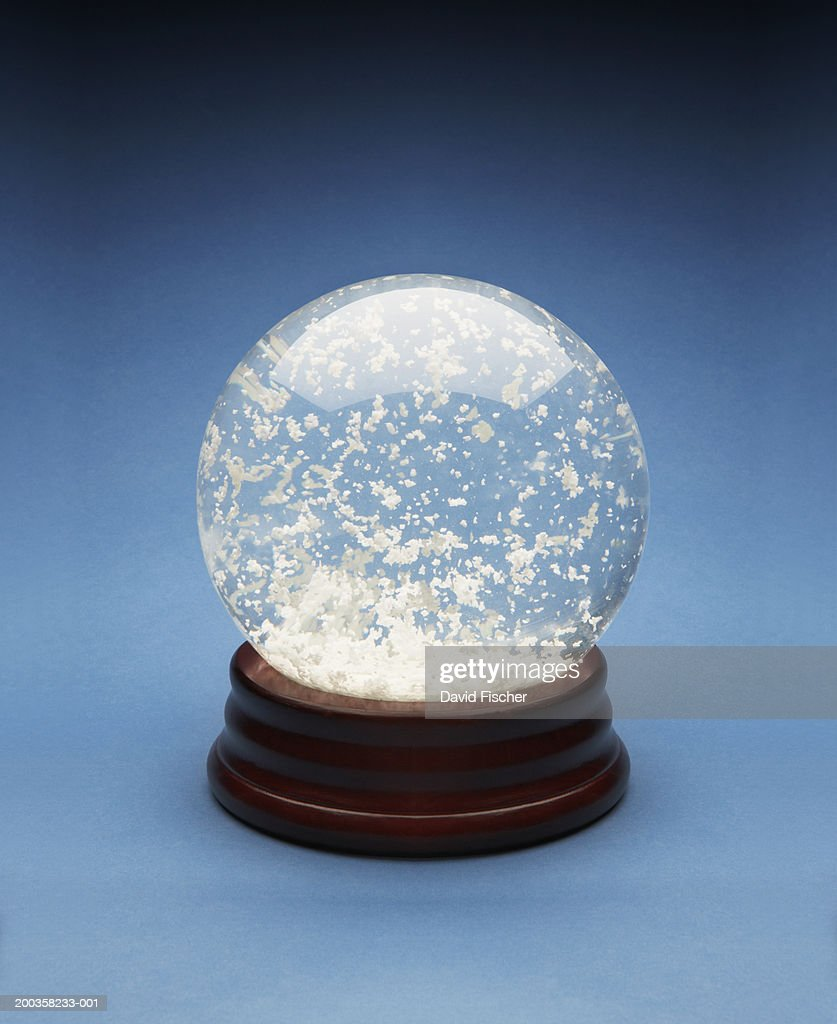 Snow globe : Stock Photo