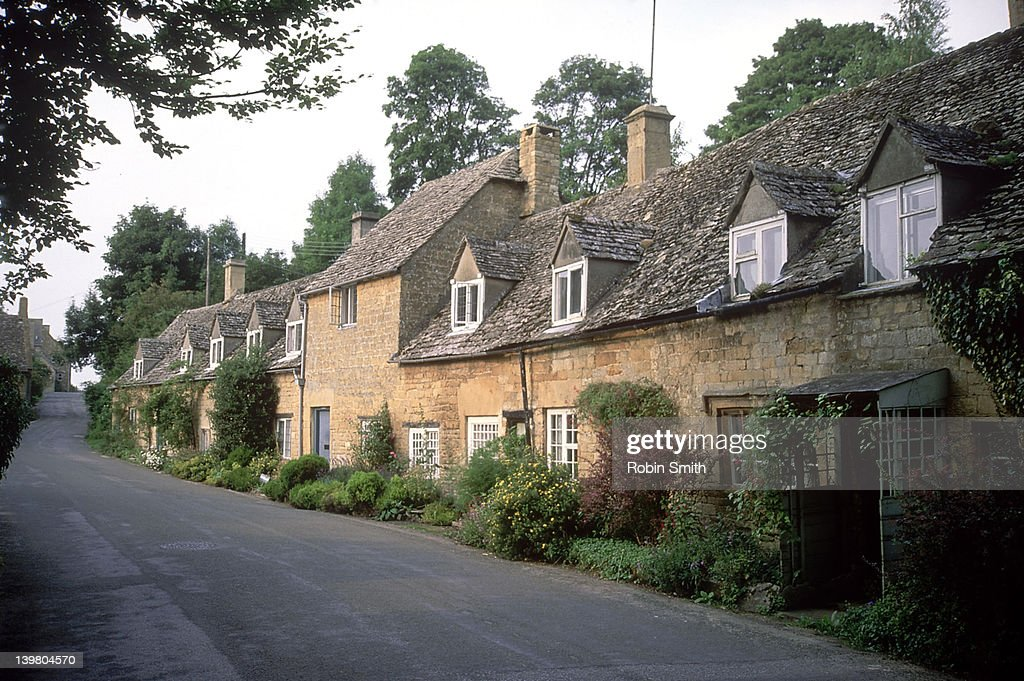Snow Hill cottages, Cotswolds, Gloucestershire