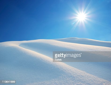 Snow hills : Stock Photo