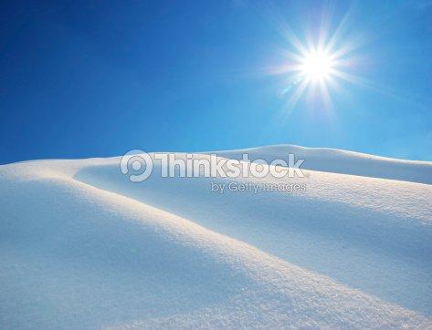 Snow hills : Stock Photo
