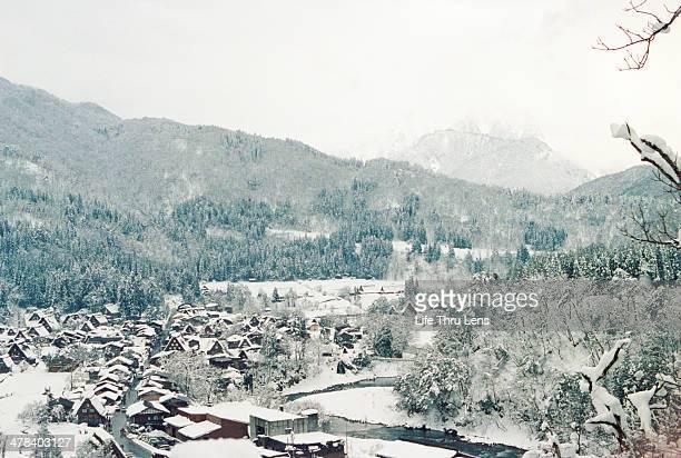 Snow in Shiragawa
