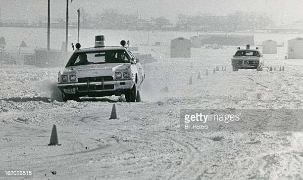 DEC 7 1972 DEC 9 1972 DEC 13 1972 Snow introduces an additional hazard on the Aurora Police Academy Training course at Lowry Air Force Base The...