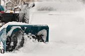 snow machine manual on the street