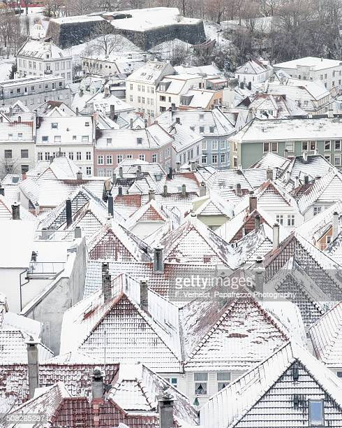 Snow on Bergen
