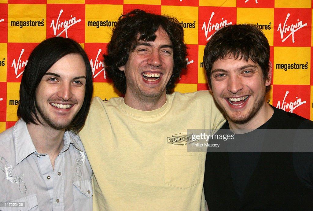 Snow Patrol In Store Performance at Virgin Megastore in Dublin - April 28, 2006
