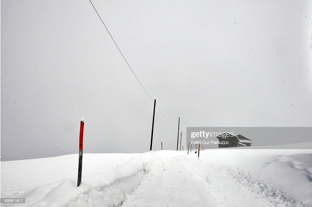 Snow storm at Grison