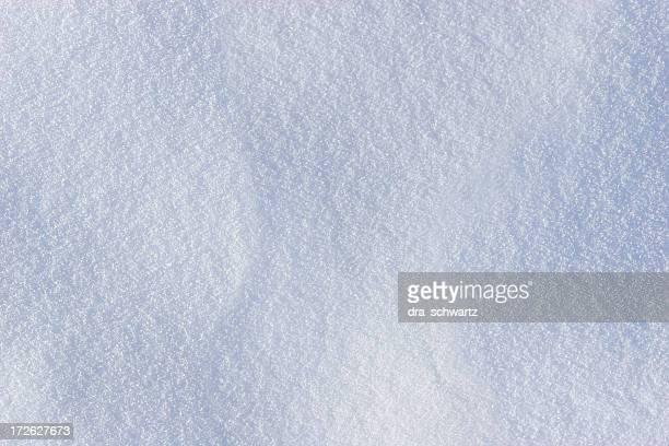 texture de la neige