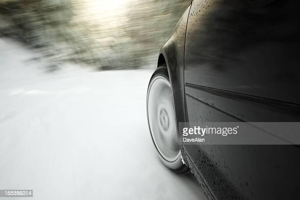 Snow Tire Drive Speed