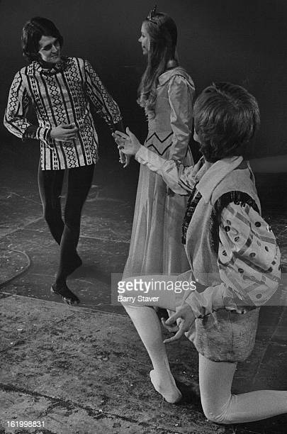 DEC 27 1971 JAN 6 1972 'Snow White' Opens Saturday At Bonfils Theatre Two handsome princes Ralph Hecox and Matthew Houston vie for the hand of Snpw...