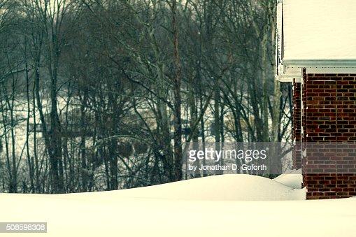 Snow Yard : Stock Photo