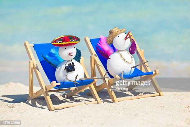Snowbirds Winter Tropical Beach Vacation in Mexico