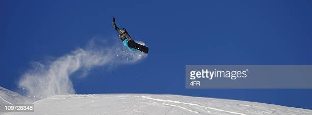 Snowboard Jump Panorama