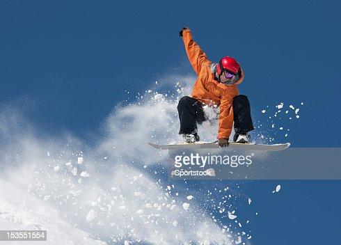 スノーボードの移動