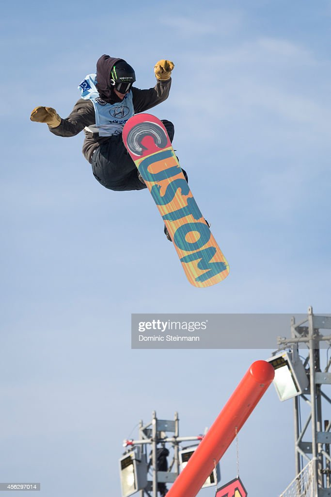 Snowboarder <a gi-track='captionPersonalityLinkClicked' href=/galleries/search?phrase=Christian+Haller&family=editorial&specificpeople=4606567 ng-click='$event.stopPropagation()'>Christian Haller</a> (8th) of Switzerland during the qualification at freestyle.ch Zurich on September 28, 2014 in Zurich, Switzerland.