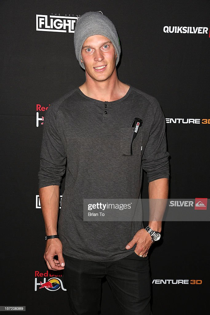 Snowboarder Eero Niemela attends The Art of Flight 3D - Los Angeles screening at AMC Criterion 6 on November 29, 2012 in Santa Monica, California.