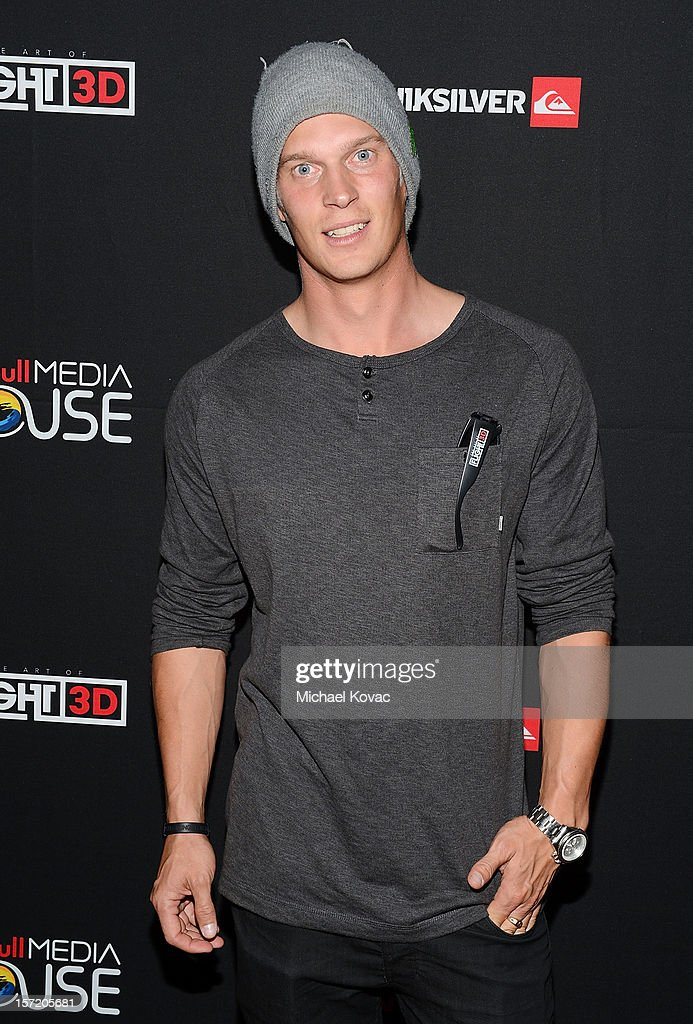 Snowboarder Eero Niemela attends the Los Angeles Screening of The Art of Flight 3D at AMC Criterion 6 on November 29, 2012 in Santa Monica, California.
