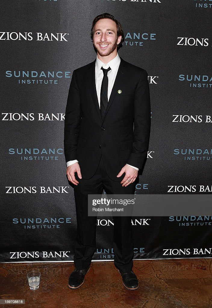 Snowboarder Jack Mitrani attends SLC Gala Reception presented by Zions at Pierpont Place on January 18, 2013 in Salt Lake City, Utah.