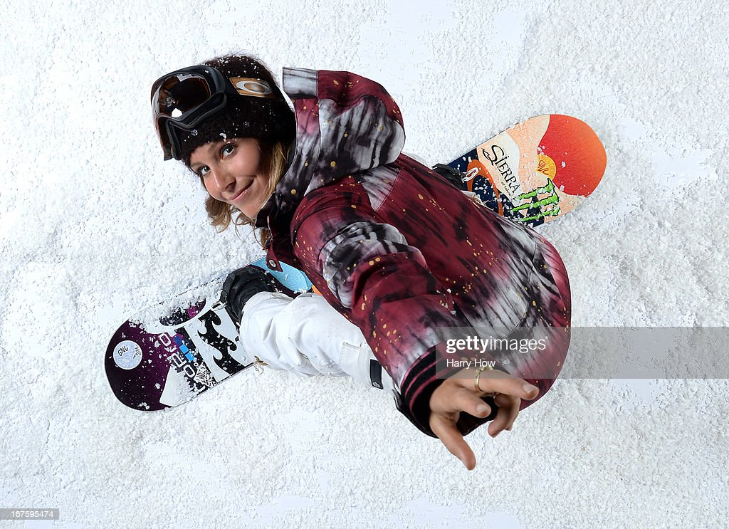 Snowboarder Jamie Anderson poses for a portrait during the USOC Portrait Shoot on April 26, 2013 in West Hollywood, California.