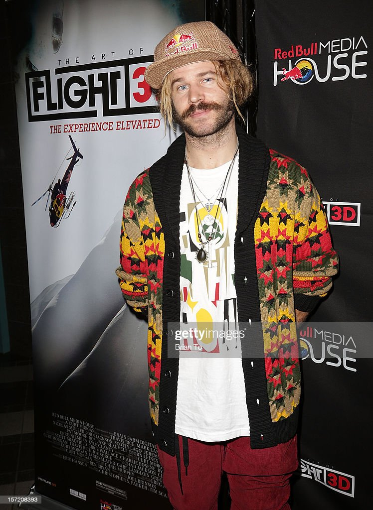 Snowboarder John Jackson attends The Art of Flight 3D - Los Angeles screening at AMC Criterion 6 on November 29, 2012 in Santa Monica, California.