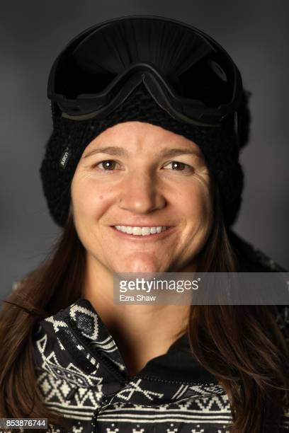 Snowboarder Kelly Clark poses for a portrait during the Team USA Media Summit ahead of the PyeongChang 2018 Olympic Winter Games on September 25 2017...