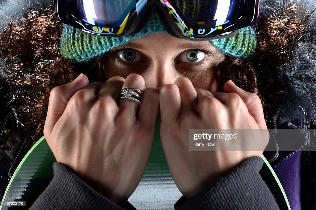 Snowboarder <a gi-track='captionPersonalityLinkClicked' href=/galleries/search?phrase=Lindsey+Jacobellis&family=editorial&specificpeople=217703 ng-click='$event.stopPropagation()'>Lindsey Jacobellis</a> poses for a portrait during the USOC Portrait Shoot on April 26, 2013 in West Hollywood, California.