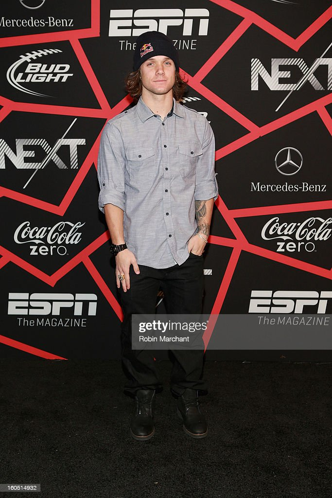 Snowboarder Louie Vito attends ESPN The Magazine's 'NEXT' Event at Tad Gormley Stadium on February 1, 2013 in New Orleans, Louisiana.
