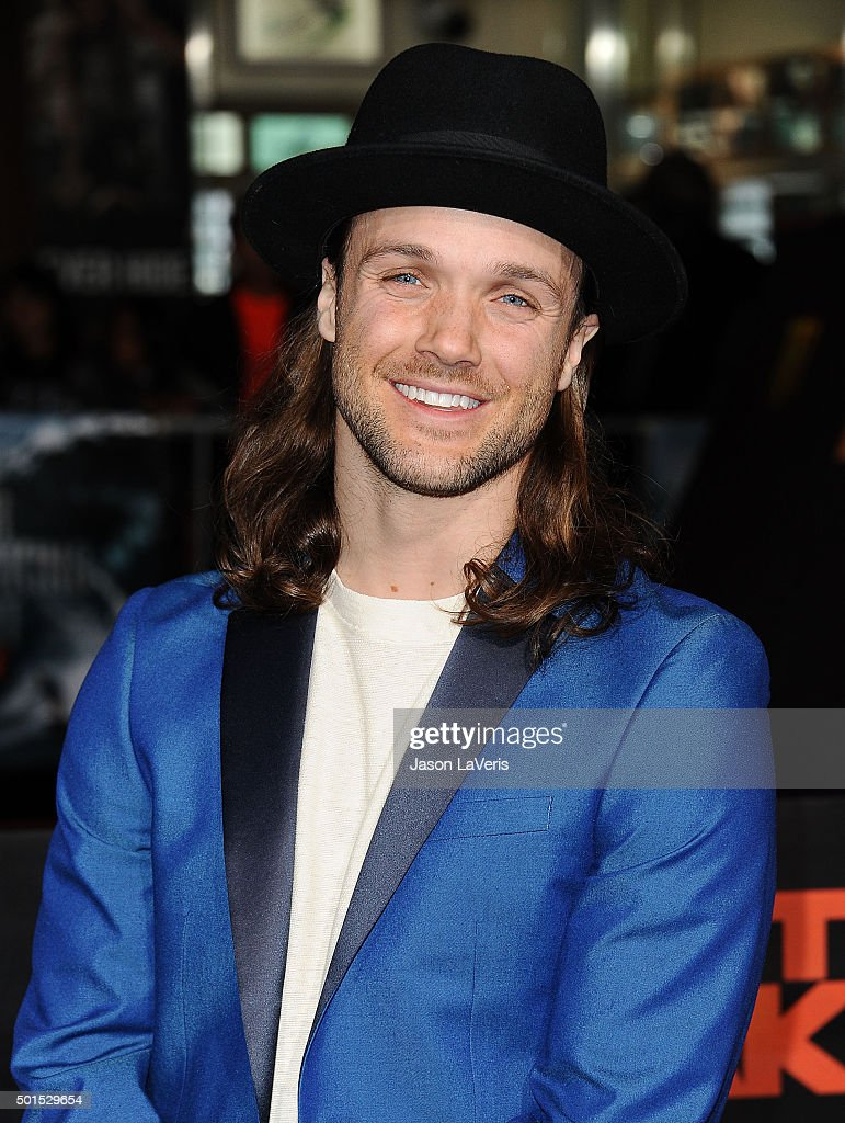 Snowboarder Louie Vito attends the premiere 'Point Break' at TCL Chinese Theatre on December 15 2015 in Hollywood California