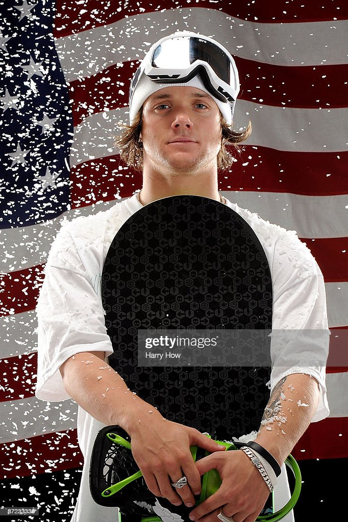 Snowboarder Louie Vito poses for a portrait during the NBC/USOC Promotional Photo Shoot on May 13 2009 at Smashbox Studios in Los Angeles California