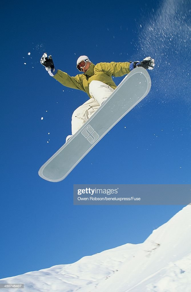 Snowboarder Mid-air