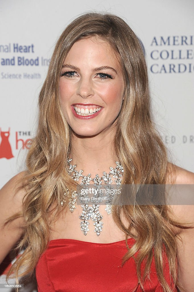 Snowboarder Torah Bright attends The Heart Truth's Red Dress Collection during Fall 2013 Mercedes-Benz Fashion Week at Hammerstein Ballroom on February 6, 2013 in New York City.