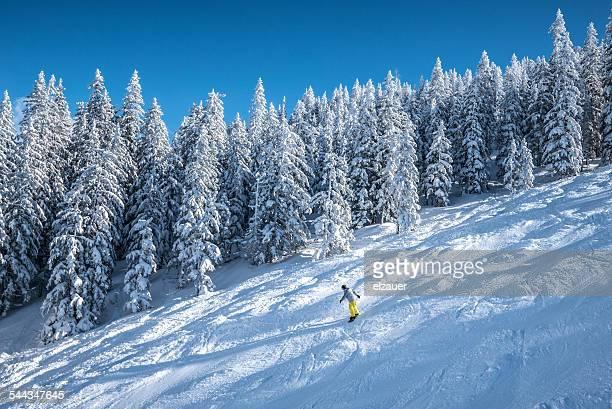 Snowboarding in Hochkönig