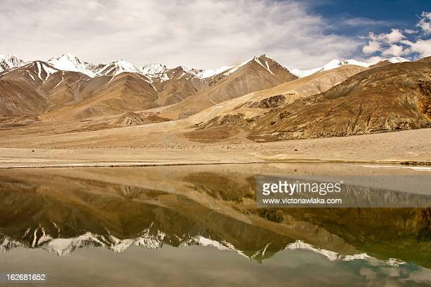 Snow-Capped Mountain Reflection