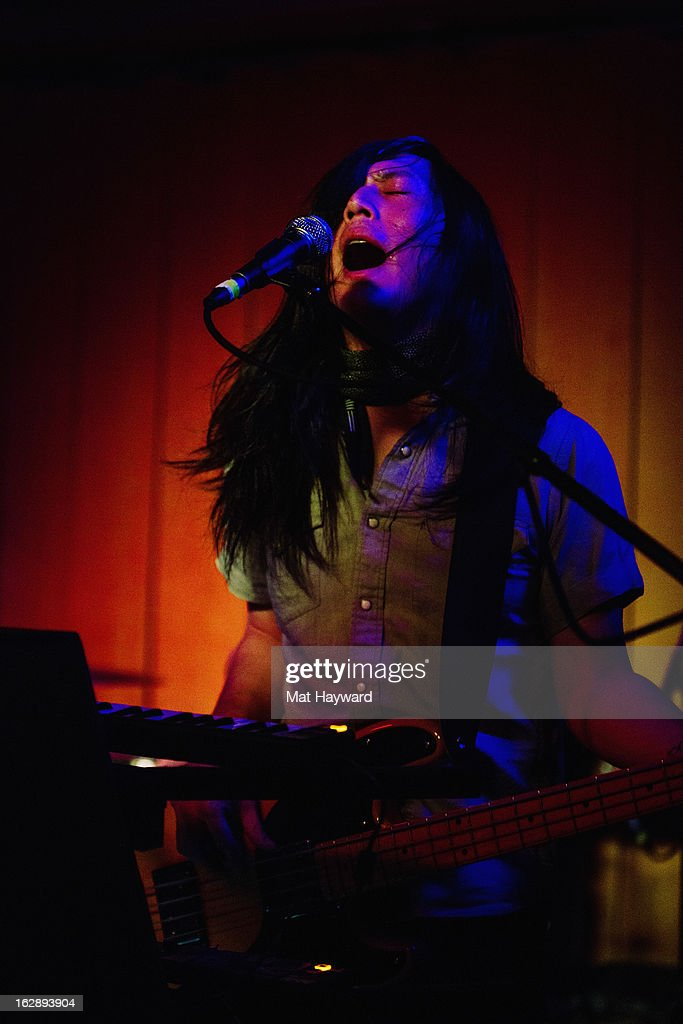 Snowden performs at Barboza on February 28, 2013 in Seattle, Washington.