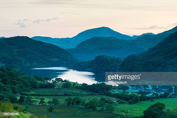 Snowdonia National Park Sunset