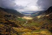 Snowdonia valley
